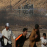 Israel, Hamas trade fire on Gaza border; Palestinian killed