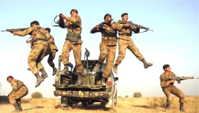 Pakistan's military has killed a senior member of Islamist militant group Lashkar-e-Jhangvi (LeJ) along two suicide bombers in a raid in the southwestern province of Balochistan, the army's media wing said on Thursday.