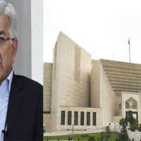 Hearing Of Khawaja Asif's Disqualification Plea Underway