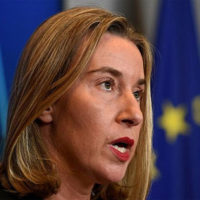 'No alternative' to Iran deal, EU's Mogherini tells US