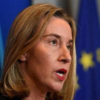 'No alternative' to Iran deal, EU's Mogherini tells US