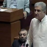 Who removed Musharraf's name from ECL, asks Shah Mehmood