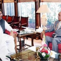 Caretaker setup: PM Abbasi, Khursheed Shah fail to reach consensus in fifth meeting