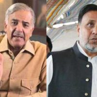 Caretaker Punjab CM: Shehbaz Sharif meets Mahmood-ur-Rasheed