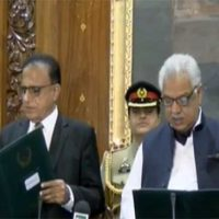 Justice (r) Dost Mohammad takes oath as caretaker KP CM