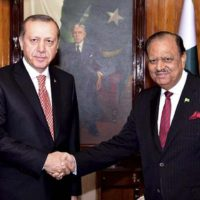 President Mamnoon Hussain congratulates President Recep Tayyip Erdogan of Turkey on victory in the elections