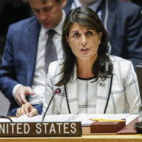 US will veto UN draft on protecting Palestinians