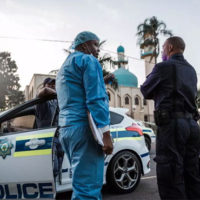 Two stabbed to death in South Africa mosque, attacker killed