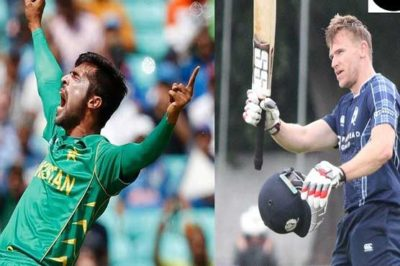 First T20 between Pakistan, Scotland to be played on Tuesday