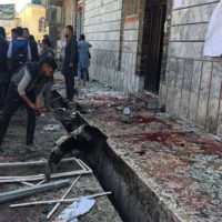 Seven killed in Kabul suicide blast near clerics' gathering