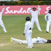 Chandimal sweats as Sri Lanka and West Indies draw 2nd Test
