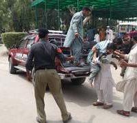Blast targets convoy of JUI-F leader Akram Khan Durrani, 4 killed