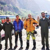 2 foreign mountaineers stuck in avalanche at Ultar Sar Peak rescued