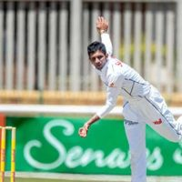 Sri Lanka hit back after Maharaj's nine-wicket haul