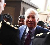 Malaysian court charges former premier Najib with corruption