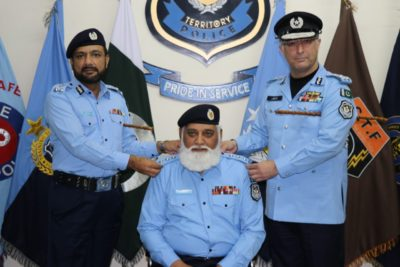 Four inspectors  have been promoted to the rank of DSP