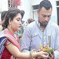 Danish Kaneria celebrates 'Raksha Bandhan' with his family