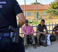 Greek police arrest 8 suspected of killing Pakistani migrant