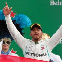 Hamilton equals Schumacher's record with Italian Grand Prix win