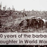 100 yrs of Horrible World War I - Here's the Devastation and Destruction In Numbers