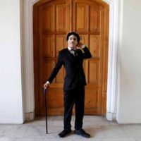 Afghani Charlie Chaplin Karim Asir brings joys and happiness amid war