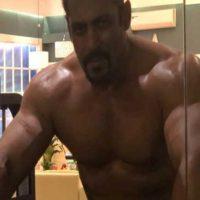 Salman Khan packs a muscle for Big Boss 12