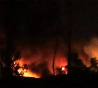 Explosions at a Syrian military airport close to Damascus