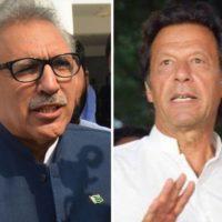 President Alvi, PM Imran seek acquittal in Parliament attack case