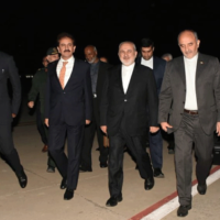 Iran FM arrives in Pakistan to discuss border guard abduction