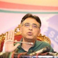 Asad Umar reiterates commitment to curb money laundering, terror financing