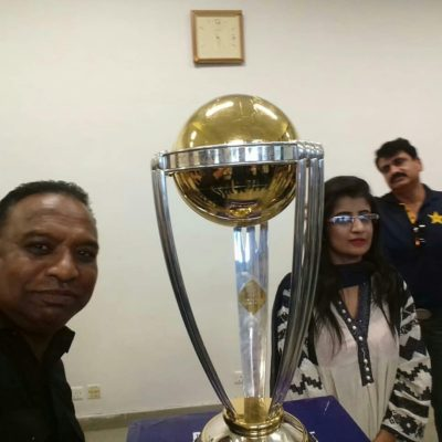 The ,Good,The ,Bad, and ,The ,Googly, Pakistani, journalist ,Asghar Ali Mubarak, revisits, his ,episode, of, 1996 ,World Cup  ,at, 2019, ICC World Cup, trophy ,unveiled ,ceremony, Rawalpindi