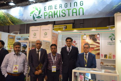 Pak Food products Exhibited at the world biggest food fair held in Paris