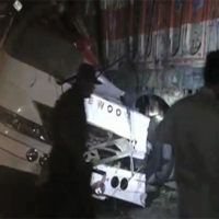 Eight killed as coach collides with trailer in Dadu
