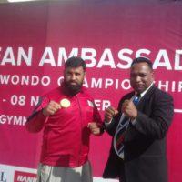 13th,Korean, National ,Taekwondo ,Championships,concluded, at, Liaquat, Gymnasium, Islamabad