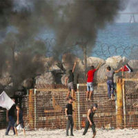 Six Palestinians killed in clashes during Israel operation in Gaza
