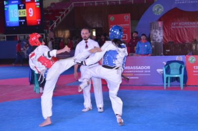 13th, Korean, National ,Taekwondo ,Championships, concluded, at, Liaquat, Gymnasium, Islamabad