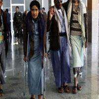 Wounded rebels evacuated ahead of Yemen talks as UN envoy visits