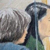 (Reuters) - Huawei Technologies Co Ltd s chief financial officer faces U.S. accusations that she covered up her company s links to a firm that tried to sell equipment to Iran despite sanctions, a Canadian prosecutor said on Friday, arguing against giving her bail while she awaits extradition. The case against Meng Wanzhou, who is also the daughter of the founder of Huawei, stems from a 2013 Reuters report about the company s close ties to Hong Kong-based Skycom Tech Co Ltd, which attempted to sell U.S. equipment to Iran despite U.S. and European Union bans, the prosecutor told a Vancouver court. U.S. prosecutors argue that Meng was not truthful to banks who asked her about links between the two firms, the court heard on Friday. If extradited to the United States, Meng would face charges of conspiracy to defraud multiple financial institutions, the court heard, with a maximum sentence of 30 years for each charge. No decision was reached after nearly six hours of arguments and counter-arguments, and the hearing was adjourned until Monday 10:00 a.m. Pacific Time (1800 GMT). Meng, 46, was arrested in Canada on Dec. 1 at the request of the United States. The arrest was on the same day that U.S. President Donald Trump met in Argentina with China s Xi Jinping to look for ways to resolve an escalating trade war between the world s two largest economies. The news of her arrest has roiled stock markets and drawn condemnation from Chinese authorities, although Trump and his top economic advisers have downplayed its importance to trade talks after the two leaders agreed to a truce. Friday s court hearing was intended to decide on whether Meng can post bail or if she should be kept in detention. The prosecutor opposed bail, arguing that Meng was a high flight risk with few ties to Vancouver and that her family s wealth would mean than even a multi-million-dollar surety would not weigh heavily should she breach conditions. Meng s lawyer, David Martin, said her prominence made it 