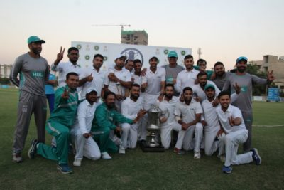 HBL, beat, SNGPL, in, test, match, at, UBL, SPORTS, COMPLEX, KARACHI